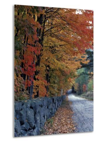 Fall Colors in the White Mountains, New Hampshire, USA-Jerry & Marcy Monkman-Metal Print