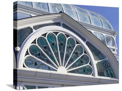 Volunteer Park Conservatory, Seattle, Washington, USA-William Sutton-Stretched Canvas Print