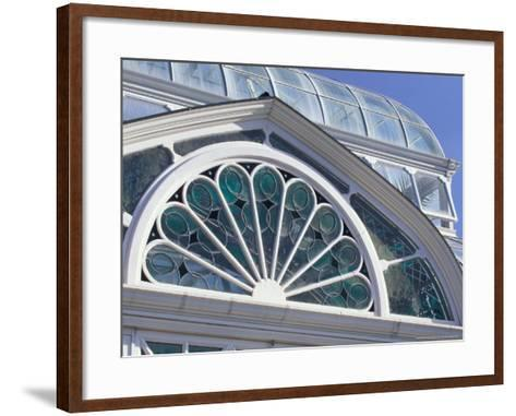 Volunteer Park Conservatory, Seattle, Washington, USA-William Sutton-Framed Art Print