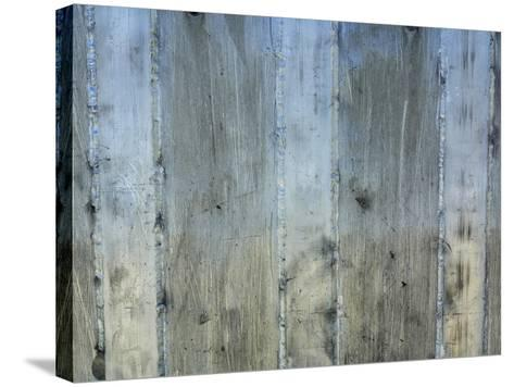 Close-up of a Rough Gray Concrete Wall--Stretched Canvas Print