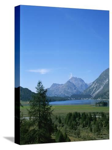 View of the Engadin Valley outside St Moritz-Taylor S^ Kennedy-Stretched Canvas Print