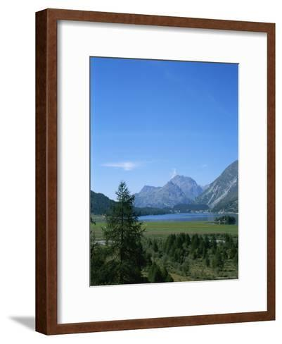 View of the Engadin Valley outside St Moritz-Taylor S^ Kennedy-Framed Art Print