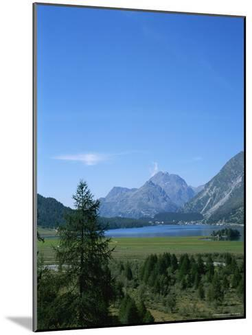 View of the Engadin Valley outside St Moritz-Taylor S^ Kennedy-Mounted Photographic Print