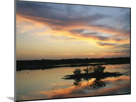 Sunset on Floridas Gulf Coast--Mounted Photographic Print
