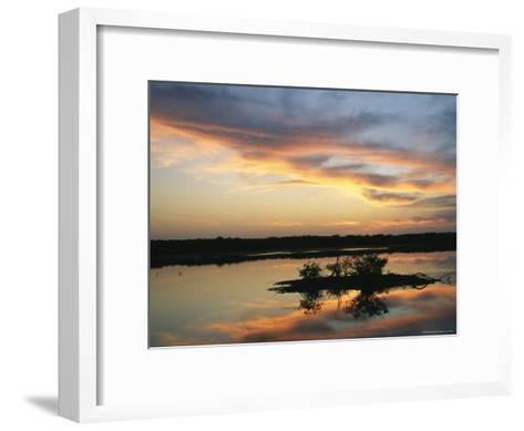 Sunset on Floridas Gulf Coast--Framed Art Print