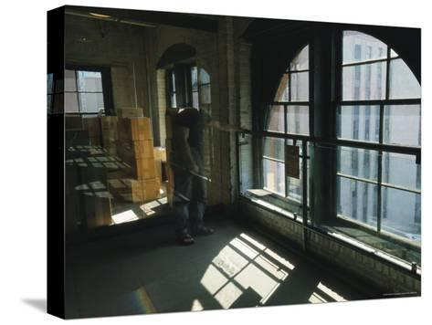 The Window from Which Lee Harvey Oswald Shot President John F. Kennedy-Richard Nowitz-Stretched Canvas Print