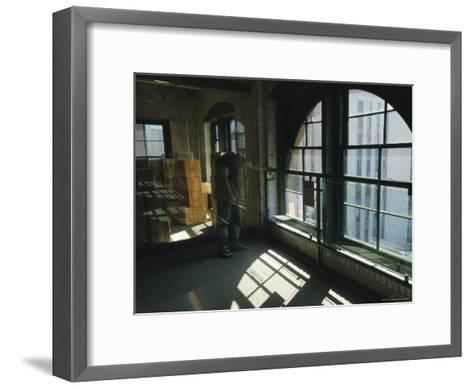 The Window from Which Lee Harvey Oswald Shot President John F. Kennedy-Richard Nowitz-Framed Art Print