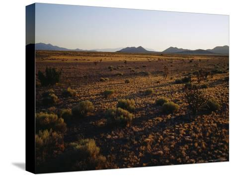 Desert Prairie outside of Santa Fe-Raul Touzon-Stretched Canvas Print