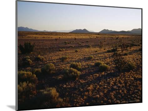 Desert Prairie outside of Santa Fe-Raul Touzon-Mounted Photographic Print