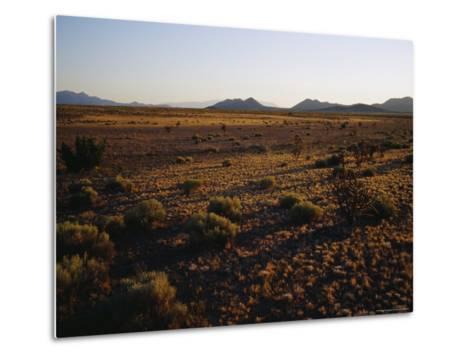 Desert Prairie outside of Santa Fe-Raul Touzon-Metal Print