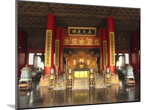 The Hall of Supreme Harmony in the Beijings Forbidden City-Richard Nowitz-Mounted Photographic Print