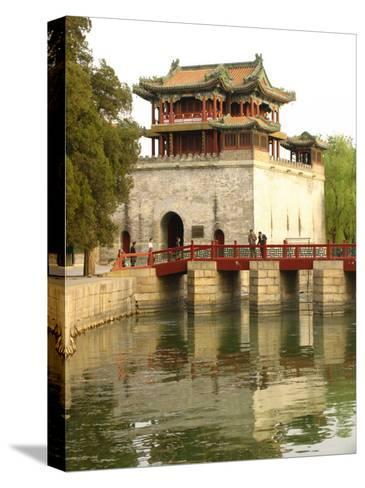 The Summer Palace-Richard Nowitz-Stretched Canvas Print