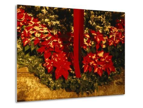 Christmas Time at the Catholic Cathedral of the Risen Christ--Metal Print