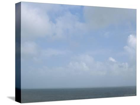The Sea and a Cloudy Sky Seen from Nha Trang Beach--Stretched Canvas Print