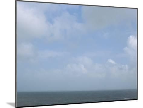 The Sea and a Cloudy Sky Seen from Nha Trang Beach--Mounted Photographic Print