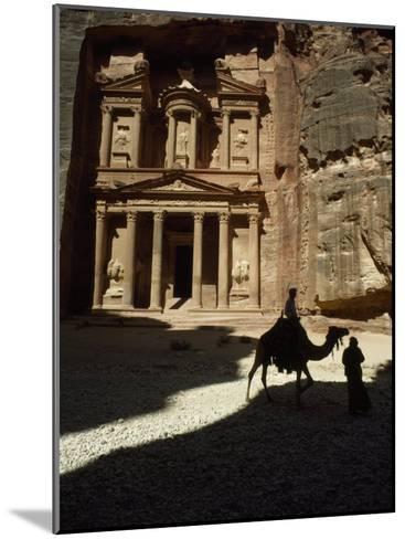 Pharaoh's Treasury, Petra, Jordan-James L^ Stanfield-Mounted Photographic Print