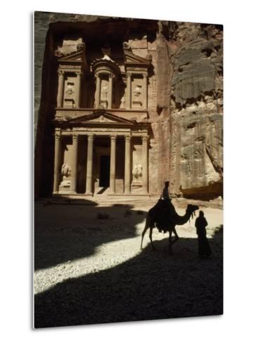 Pharaoh's Treasury, Petra, Jordan-James L^ Stanfield-Metal Print