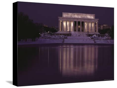 The Lincoln Memorial, Washington, D.C.-Sam Abell-Stretched Canvas Print