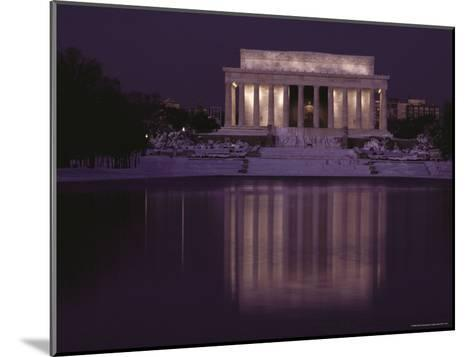 The Lincoln Memorial, Washington, D.C.-Sam Abell-Mounted Photographic Print