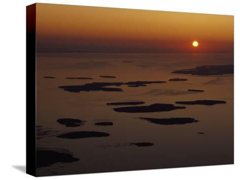 Les Cheneaux Islands, Lake Huron, Ontario, Canada-Phil Schermeister-Stretched Canvas Print