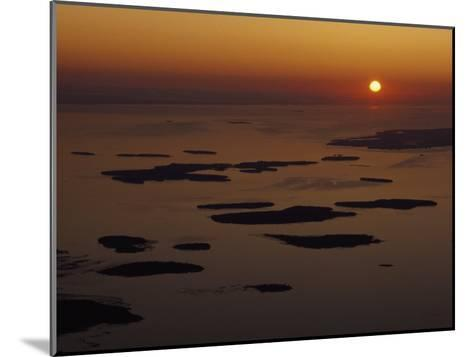 Les Cheneaux Islands, Lake Huron, Ontario, Canada-Phil Schermeister-Mounted Photographic Print