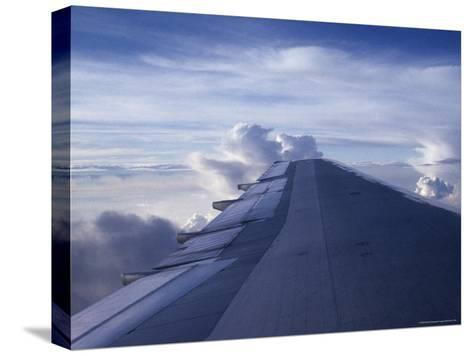 Airplane Wing-Stacy Gold-Stretched Canvas Print