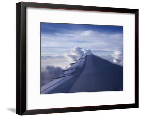 Airplane Wing-Stacy Gold-Framed Art Print