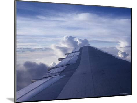 Airplane Wing-Stacy Gold-Mounted Photographic Print