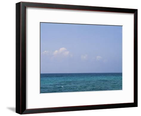 A View of the Ocean on a Sunny Summer Day at the Beach-Taylor S^ Kennedy-Framed Art Print