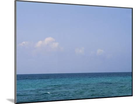 A View of the Ocean on a Sunny Summer Day at the Beach-Taylor S^ Kennedy-Mounted Photographic Print