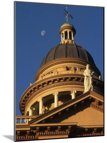 The Auburn, California Courthouse Gleams in Early Morning Sun-Phil Schermeister-Mounted Photographic Print