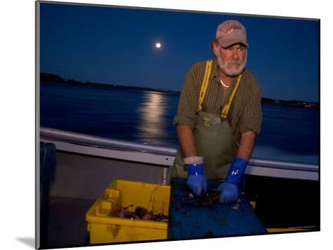 A Lobster Fisherman Goes Out for the Mornings Catch-Taylor S^ Kennedy-Mounted Photographic Print