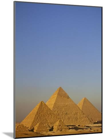 A View of the Great Pyramids of Giza-Kenneth Garrett-Mounted Photographic Print