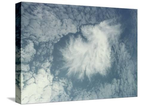Clouds Above the Hawaiian Islands-Bill Curtsinger-Stretched Canvas Print