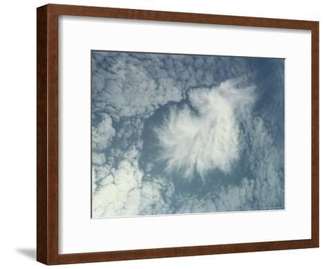 Clouds Above the Hawaiian Islands-Bill Curtsinger-Framed Art Print