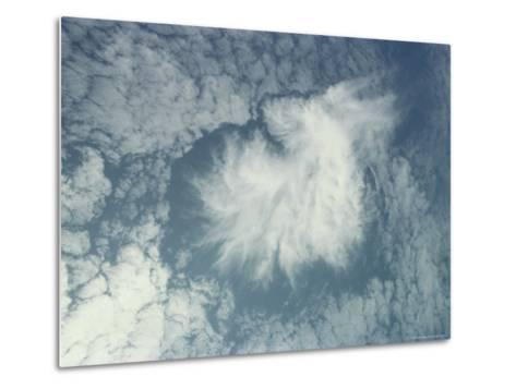 Clouds Above the Hawaiian Islands-Bill Curtsinger-Metal Print