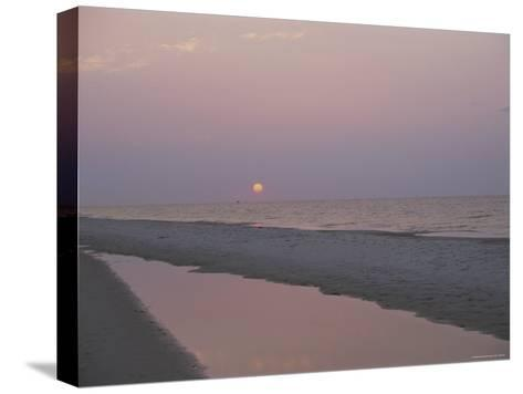 Sunrise over the Gulf of Mexico and an Alabama Beach-Medford Taylor-Stretched Canvas Print