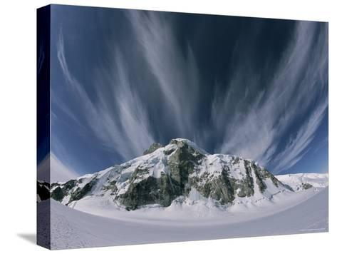 View of the Combatant Col-Jimmy Chin-Stretched Canvas Print