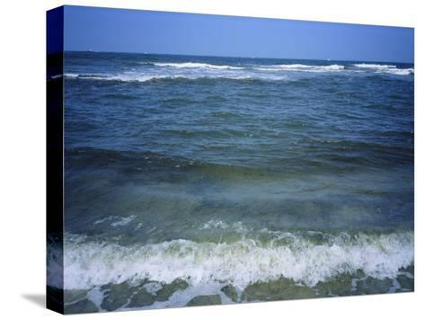 Atlantic Ocean Waves Breaking Toward the Beach-Vlad Kharitonov-Stretched Canvas Print