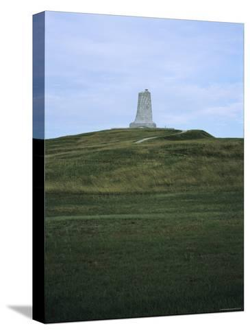 Distant View of the Wright Brothers National Monument-Vlad Kharitonov-Stretched Canvas Print