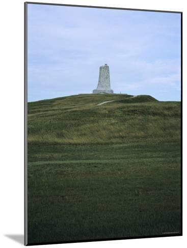 Distant View of the Wright Brothers National Monument-Vlad Kharitonov-Mounted Photographic Print