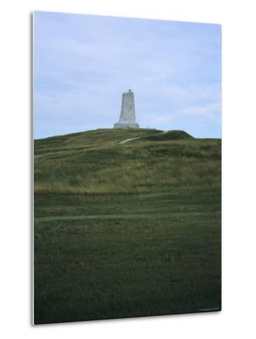 Distant View of the Wright Brothers National Monument-Vlad Kharitonov-Metal Print