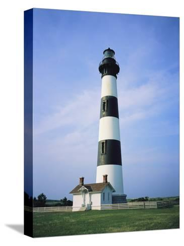 Bodie Island Lighthouse, Part of the Cape Hatteras National Seashore-Vlad Kharitonov-Stretched Canvas Print