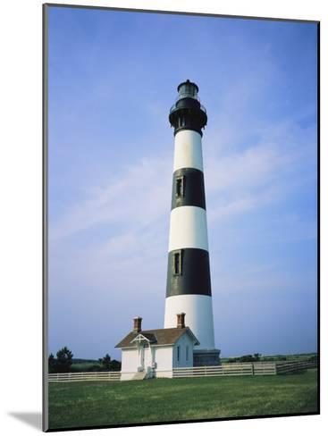 Bodie Island Lighthouse, Part of the Cape Hatteras National Seashore-Vlad Kharitonov-Mounted Photographic Print
