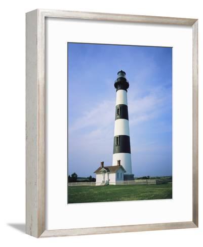 Bodie Island Lighthouse, Part of the Cape Hatteras National Seashore-Vlad Kharitonov-Framed Art Print