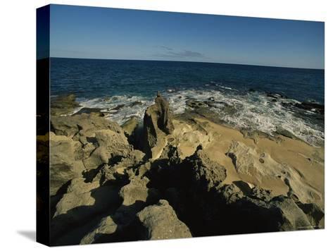 The Coastline Near San Jose Del Cabo, Baja California Sur, Mexico-Michael S^ Lewis-Stretched Canvas Print