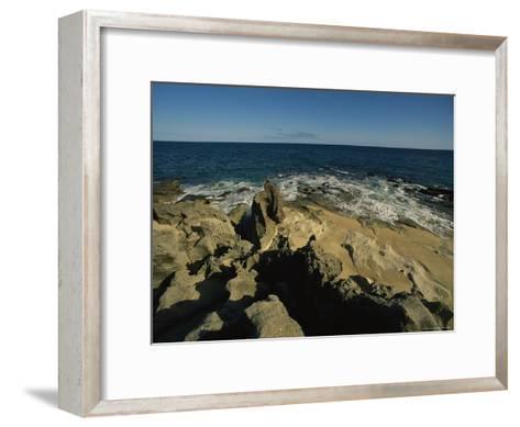 The Coastline Near San Jose Del Cabo, Baja California Sur, Mexico-Michael S^ Lewis-Framed Art Print
