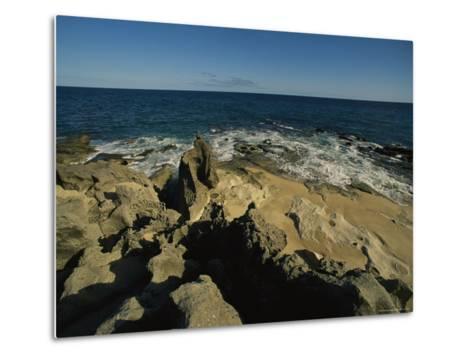 The Coastline Near San Jose Del Cabo, Baja California Sur, Mexico-Michael S^ Lewis-Metal Print