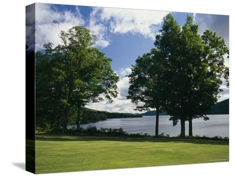 A Scenic View of Otsego Lake Near Cooperstown, New York-Raymond Gehman-Stretched Canvas Print