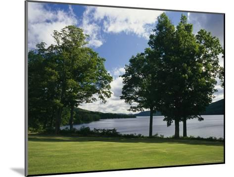 A Scenic View of Otsego Lake Near Cooperstown, New York-Raymond Gehman-Mounted Photographic Print